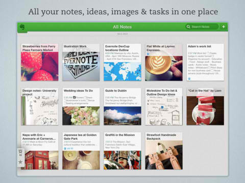 Evernote For iOS Updated With Shortcuts Feature, Skitch Integration And More