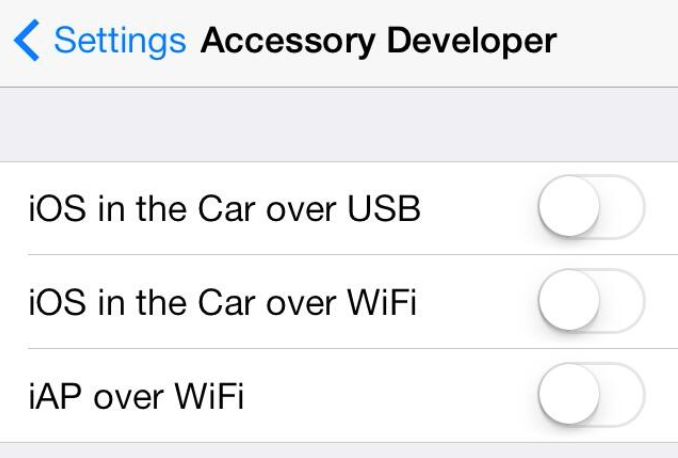 Apple's 'iOS In The Car' Could Connect Wirelessly, iOS 7 Suggests