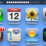 Cydia Tweak: StatusHUD Merges The Status Bar And Volume HUD