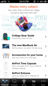 Apple Updates The Apple Store App, Prepares For Downloadable Content?