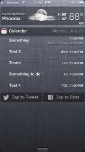 Cydia Tweak: NCCalendar+ Can Supercharge Calendar In Notification Center