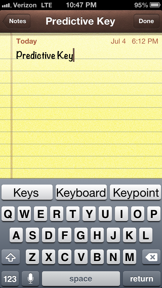 Cydia Tweak: Now You Can Add An Android-Inspired Predictive Keyboard To iOS