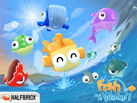 You Don't Want To Skip The First Ever Update To Halfbrick's Fish Out Of Water
