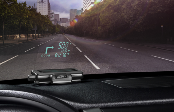 Garmin Offers Advanced Navigation Through Projection With iPhone-Connected HUD
