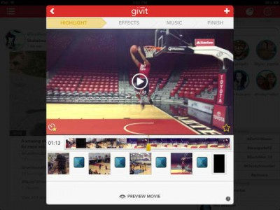 Givit Gets Gamified And Gains Multiple Video Downloading From The Cloud