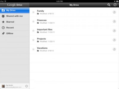 Google Drive For iOS Updated With Option To Open Links In Chrome Or Safari