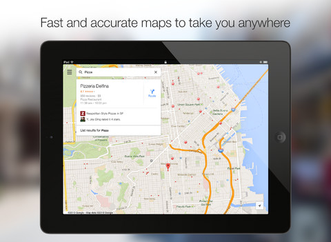 Bigger And Better: Google Maps 2.0 Brings iPad Support, Explore Section And More