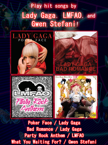 Go Gaga With Lady Gaga And Other Global Pop Acts In Groove Coaster Zero