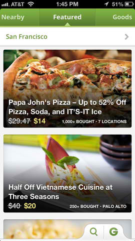 Groupon Reserve Debuts On Mobile With Newly Updated Groupon