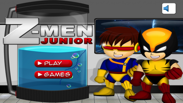 Quirky App Of The Day: The Mutants Are Adorable In Action Z-Men Boy Heroes