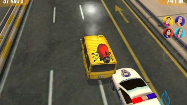 Drive As Fast As You Can Without Crashing In Dolmus Driver HD For iPad