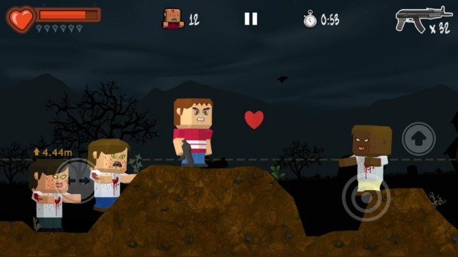 Use Zombies To Create The Tallest Hill Ever In Zombie Hills For iPhone
