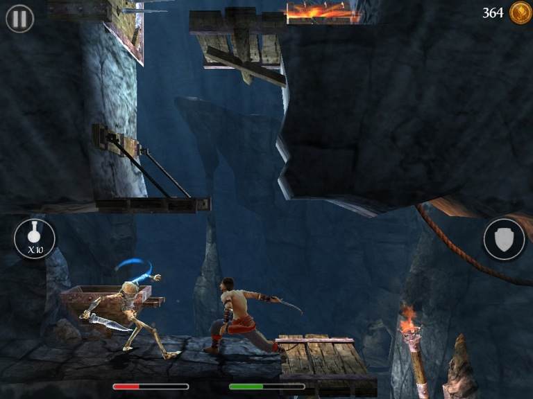 prince of persia the shadow and the flame ios review