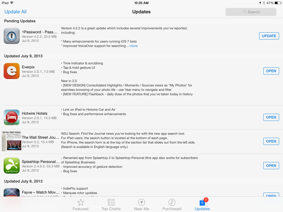 Automatic App Updates: The iOS 7 Feature Many Already Love To Hate