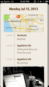 Keep Track Of The Places You Go And Things You Do With Ohai For App.net
