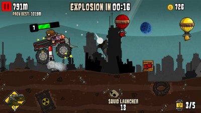 Nuclear Outrun Is A Different Kind Of Apocalyptic Endless Runner