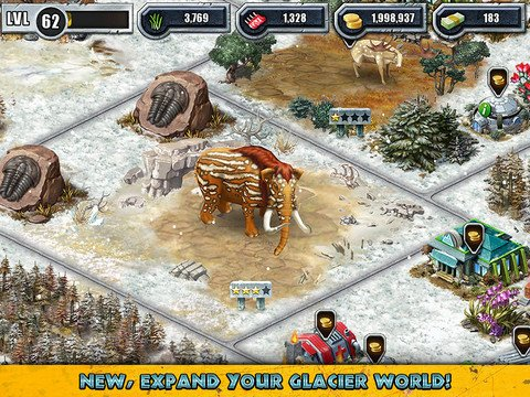 The woolly mammoth and other 39 cool 39 creatures await in jurassic park builder - Jurassic park builder decorations ...
