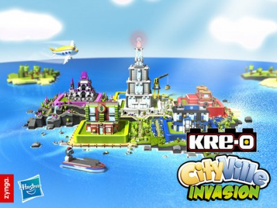 Zynga Joins Forces With Hasbro To Create KRE-O CityVille Invasion