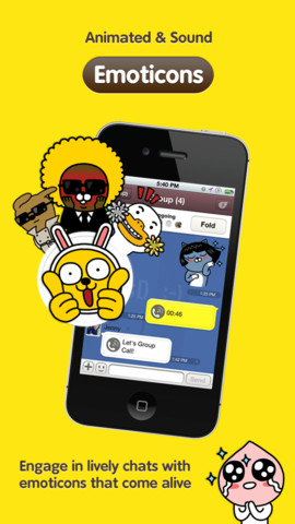 KakaoTalk Messenger Updated With Emoticon Enhancements, New Settings And More