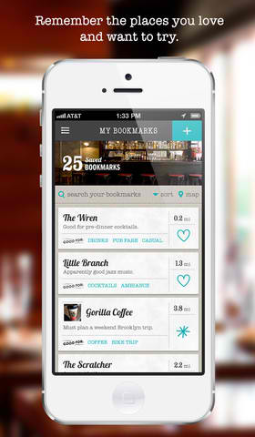 Bookmark Your Favorite And Must-Try Places With Matchbook 2.0