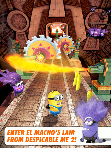 Despicable Me: Minion Rush Runs Into First Ever Despicable Update