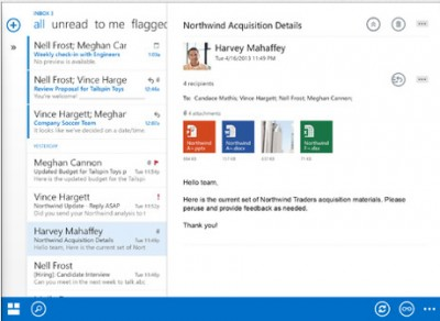 Microsoft's New Outlook iOS Apps Designed For Office 365 Business Users