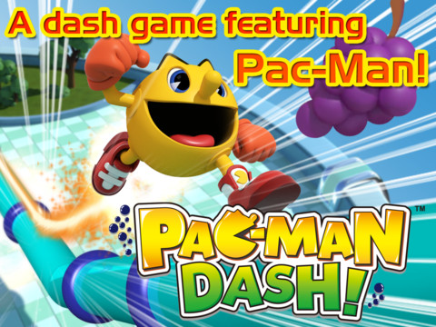 Run, Jump And Gobble Up Ghosts In Pac-Man-Dash, Out Now On iOS