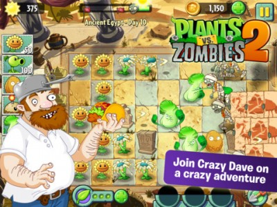 Plants Vs. Zombies 2 Sprouts Up In The App Store In Australia And New Zealand