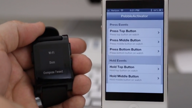 Cydia Tweak: PebbleActivator Enables Control Of Your iOS Device From A Pebble Watch