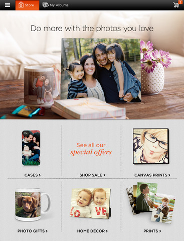 Shutterfly For iPad 2.0 Features Product Ordering And Photo Filtering