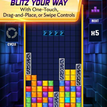 Frenzied Tetrimino-Stacking Game Tetris Blitz Gets New Features Through First Update
