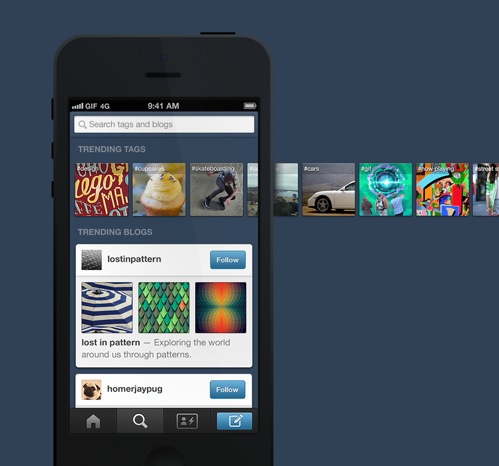 Discover More Interesting Tags And Blogs With Tumblr For iOS' Updated Explore Tab