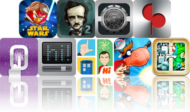 Today's Apps Gone Free: Angry Birds Star Wars, iPoe 2, Private Info And More
