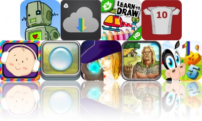 Today's Apps Gone Free: Girls Like Robots, GDrive Exporter, iLuv Drawing Vehicles And More