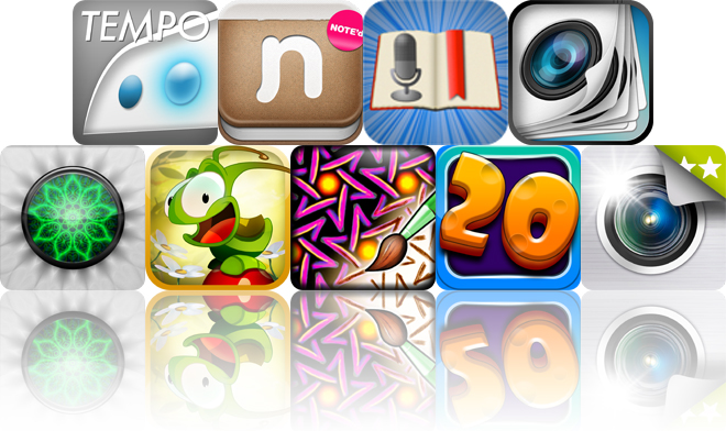 Today's Apps Gone Free: Metronome, NOTE'd, Audiolio And More