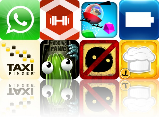 Today's Apps Gone Free: WhatsApp Messenger, All-In Fitness, Chopper Mike And More