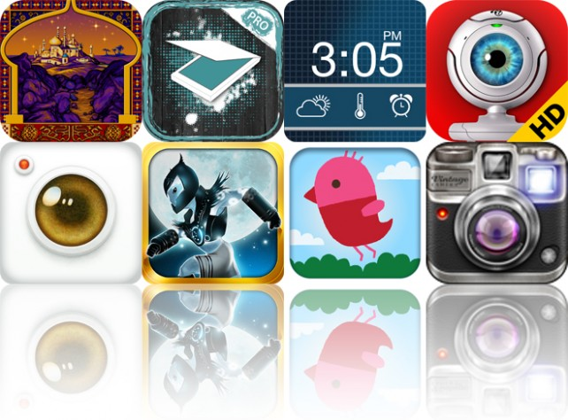 Today's Apps Gone Free: Prince Of Persia Retro, DocScanner Pro, ClockIT And More