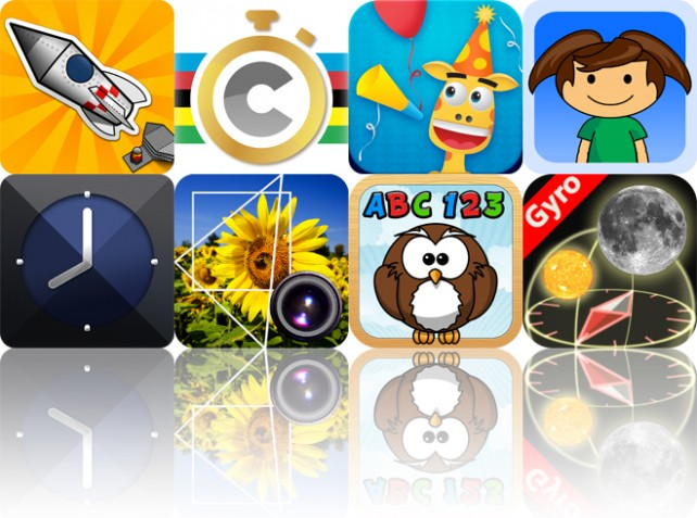 Today's Apps Gone Free: Awesome Paper Toys, Coach My Ride, Shiny Party And More