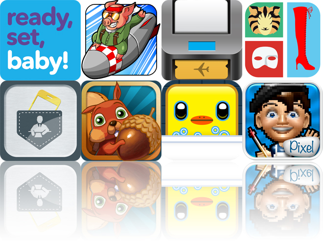 Today's Apps Gone Free: Ready, Set, Baby!, Kamikaze Pigs, PassMaker Pro And More