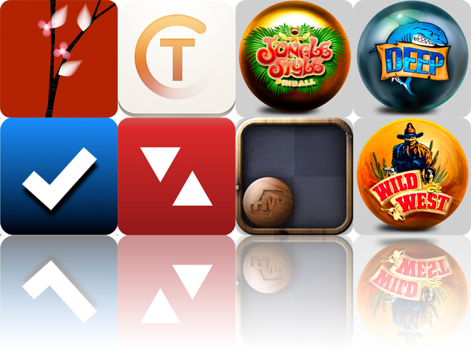 Today's Apps Gone Free: ARTREE, TeeVee 2, Jungle Style Pinball And More
