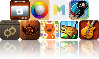 Today's Apps Gone Free: uTrakt, Blendamaze, MoodCup And More