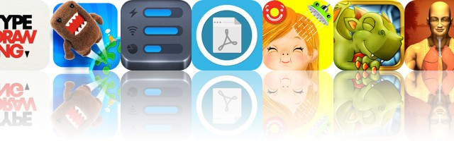 Today's Apps Gone Free: TypeDrawing, Domo Jump, ActMonitor And More