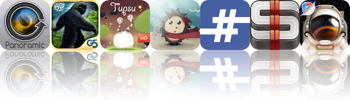 Today's Apps Gone Free: Cycloramic, Bigfoot: Hidden Giant, Tupsu And More