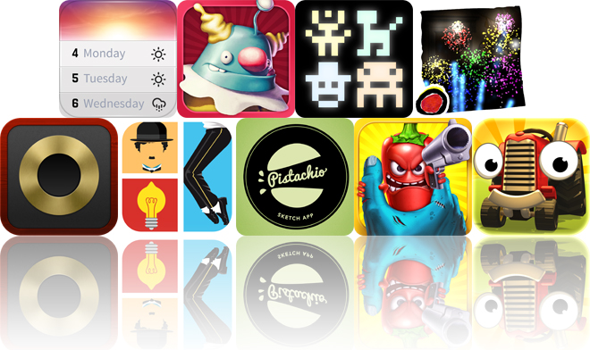 Today's Apps Gone Free: Horizon Calendar, Kill The Clowns, PixiTracker And More