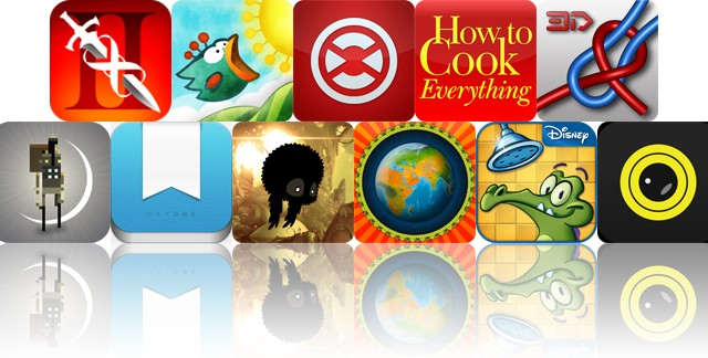 Today's Apps Gone Free: Infinity Blade II, Tiny Wings, Traktor DJ And More