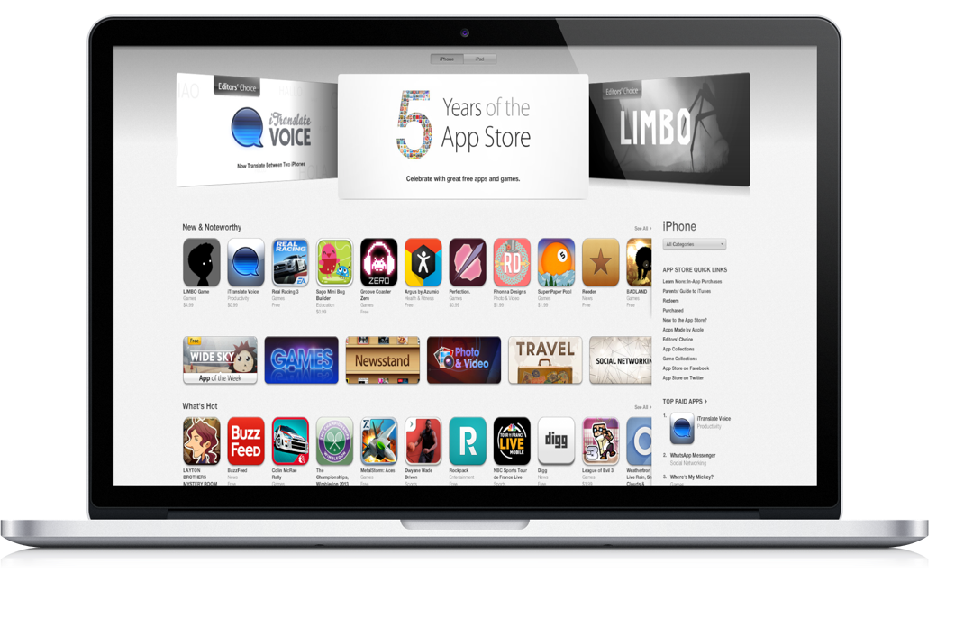 Apple's App Store Turns 5: Relive The Milestones And Best Apps Of All Time