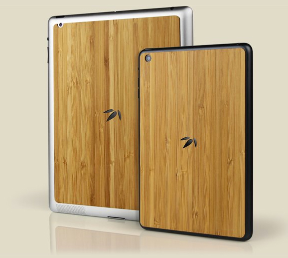 Grove Introduces A Bamboo Back For The iPad And iPad mini