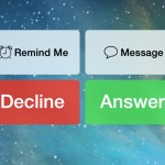 Apple Makes Some Slight Changes To The Incoming Call Screen, Call Button In iOS 7 Beta 4