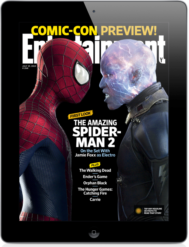 It's Amazing, As Entertainment Weekly App Now Offers Retina Display Support