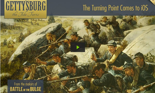 Gettysburg: The Tide Turns Looks Like A Fantastic Hex-Based Wargame